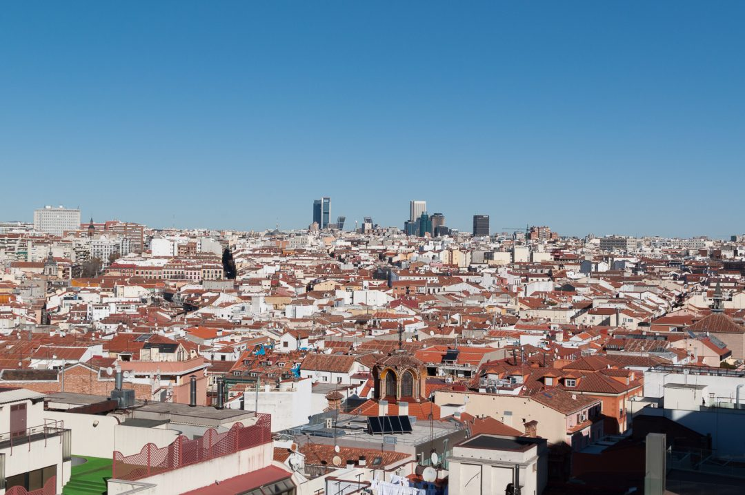 4 Amazing Rooftop Bars in Madrid